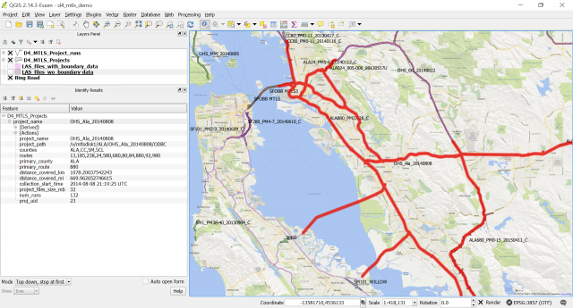 News Caltrans Districts Map on